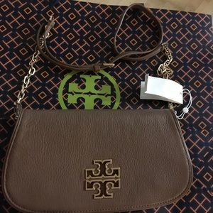 Tory Burch Bags - Tory Burch Britten Clutch/Shoulder Bag